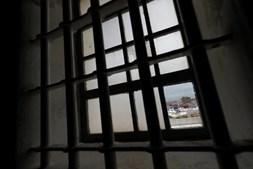 Uma das janelas da prisão de Peniche