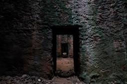 As celas de castigo na antiga prisão polícia de Peniche