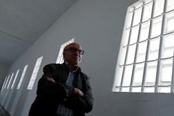 Domingos Abrantes, um dos presos políticos da era de Salazar na Prisão de Peniche