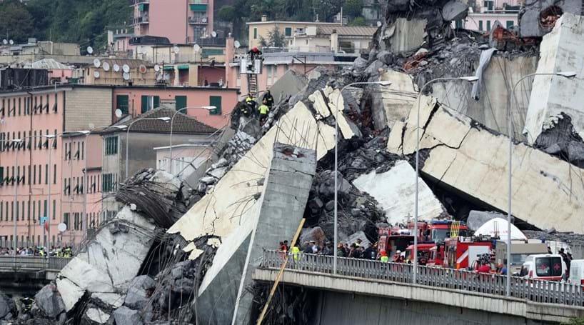 Resultado de imagem para ITÁLIA: Governo quer demissões na concessionária que faz manutenção na ponte que desabou