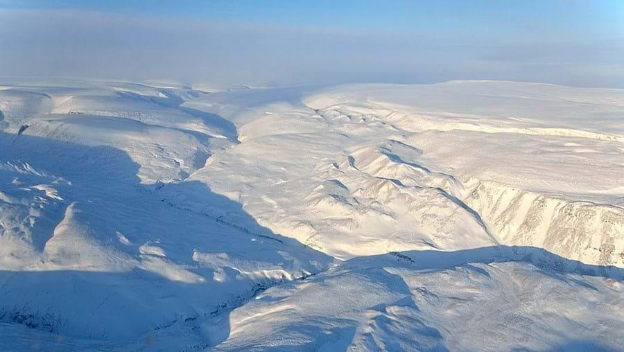 Manto de gelo da Gronelândia é a segunda maior massa gelada do mundo