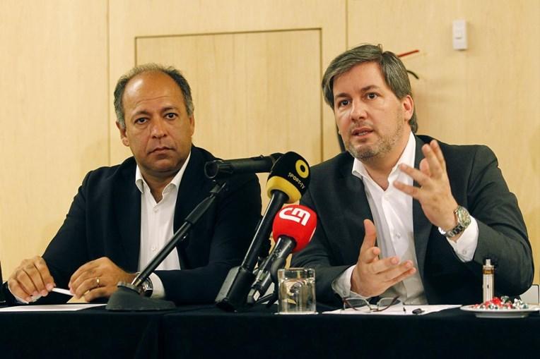 Bruno de Carvalho com Erik Kurgy