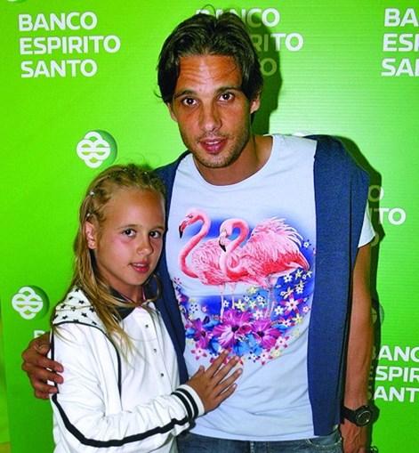 Filha de Nuno Gomes faz furor nas redes sociais