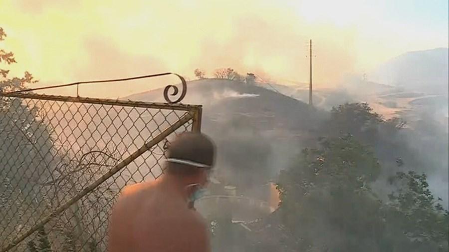 incêndios, Monchique, Portugal