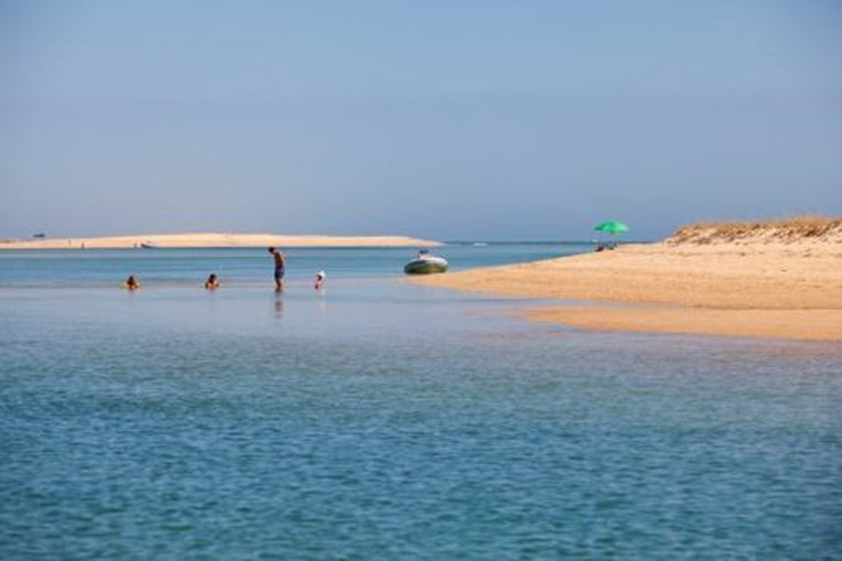 Praia da Barrinha, Barra de São Luís, Faro