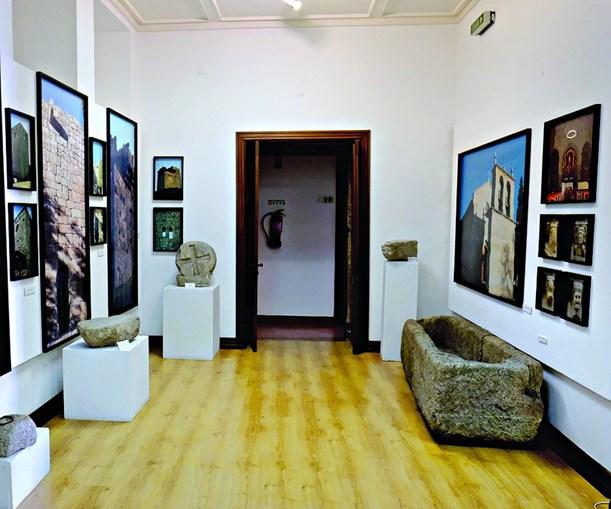Museu municipal está dividido em três salas