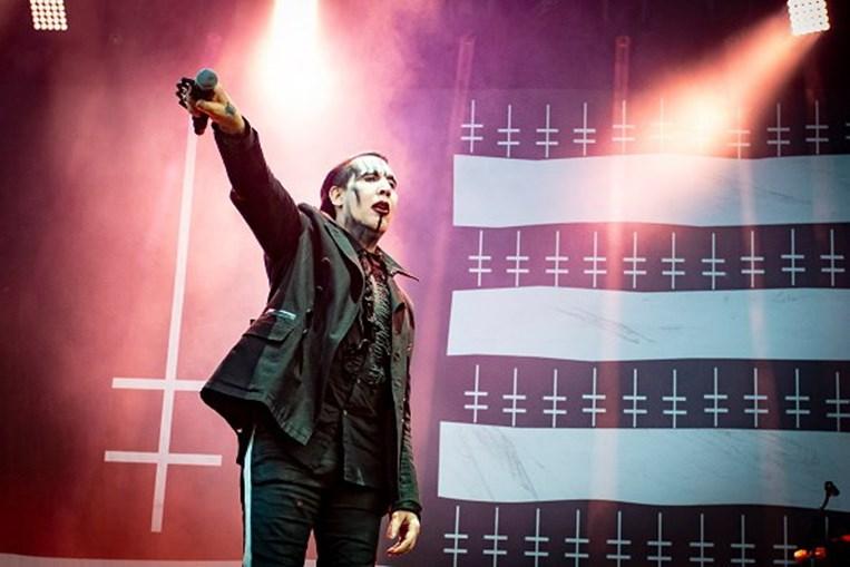 Marilyn Manson, músico norte-americano