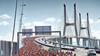 Meia maratona de Portugal junta milhares na Vasco da Gama