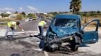 Choque mata condutor em Portimão