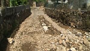 Enxurradas deixam rasto de destruição no Alto Douro