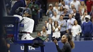 Polémica entre árbitro português e tenista Serena Williams agrava-se