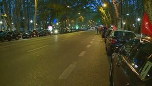 Saiba quais são as ruas de Lisboa fechadas ao trânsito devido à greve dos taxistas