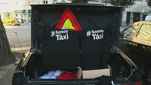 Taxistas falam em desigualdade e protestam no Porto