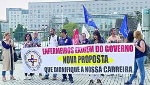 Enfermeiros anunciam mais seis dias de greve