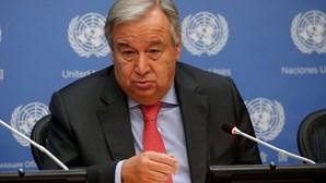 """António Guterres ataca nacionalismo das vacinas e fala na """"maior prova moral de sempre"""""""