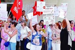 Greve de enfermeiros em Lisboa