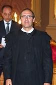 O juiz Rui Teixeira, na tua de posse como Juiz Desembargador da Relação de Lisboa