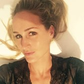 Katarina Larsson, namorada de Frederico Varandas