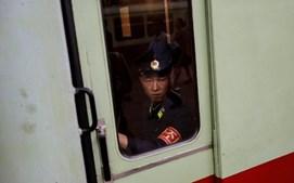 Estação de metro de Pyongyang, capital da Coreia do Norte