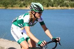 A triatleta do Sporting Katarina Larsson