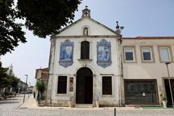 Fachada da Capelinha de Santo António, em Estarreja