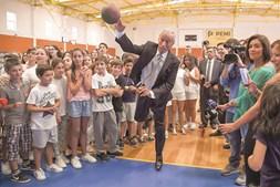 Marcelo Rebelo de Sousa jogou andebol em escola de Celorico de Basto
