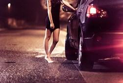 Prostituta de rua (foto de arquivo)
