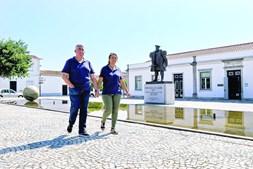 Empresários Luís e Alexandra Amado