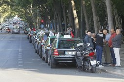 Protesto taxistas
