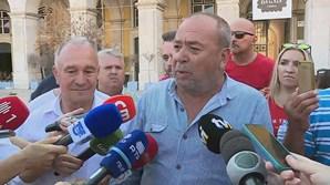 Representante dos taxistas, Carlos Ramos