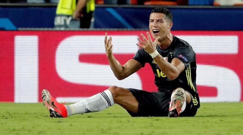 2a30977ae0 Cristiano Ronaldo castigado com um jogo na Champions após expulsão ...