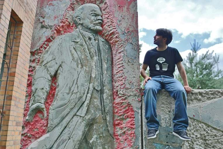 Lenin is still around