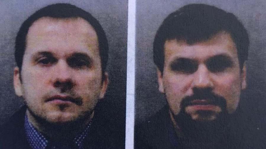 Suspeitos de envenenamento de ex-espião russo