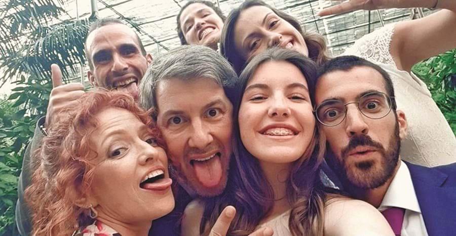 Bruno de Carvalho com a família