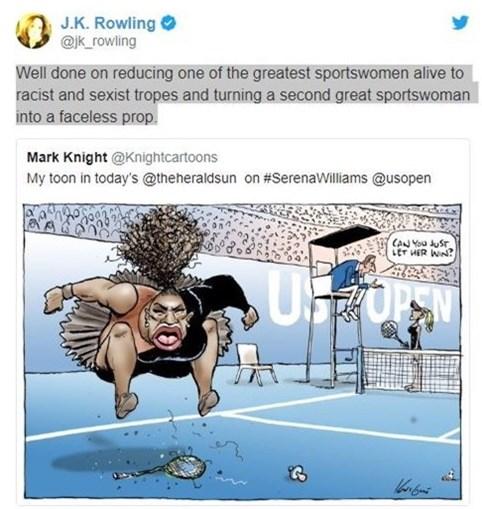 Resposta de JK Rowling