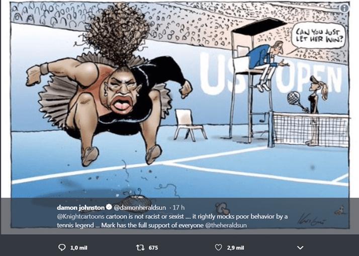 Editor do jornal mostrou apoio ao cartoonista