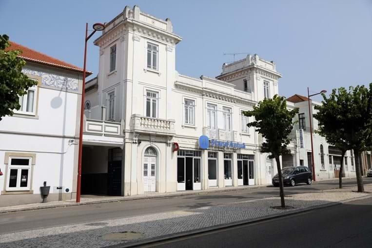 Edifício exemplar de 'Arte Nova', em Estarreja