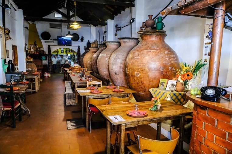 Restaurante 'País das Uvas', na Vidigueira
