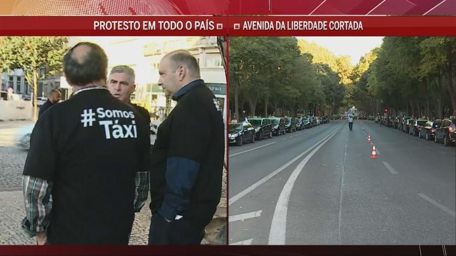 'Adesão está a ser fraca', assume Carlos Lima da Federação Portuguesa do Táxi