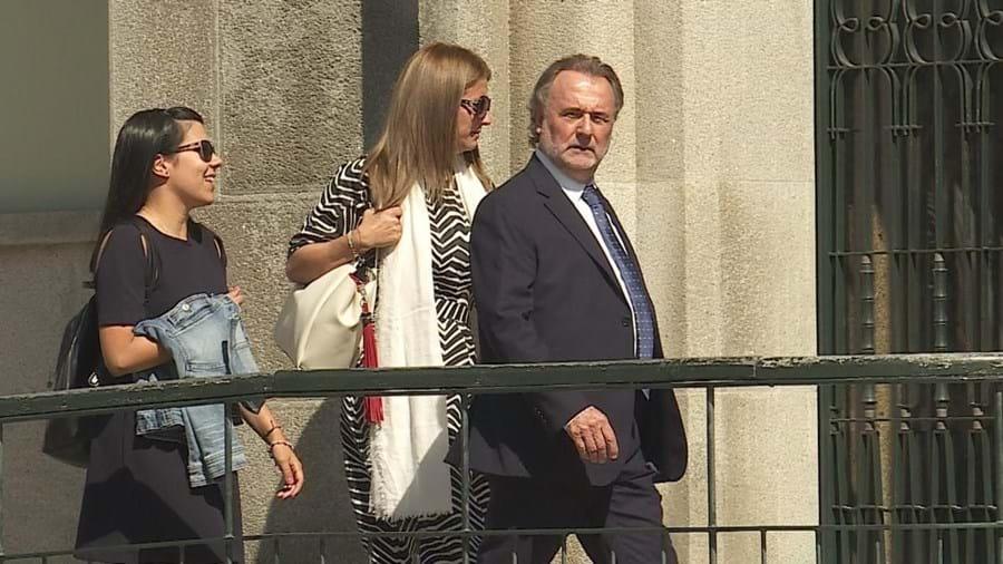 Maria Manuela Costa, ex-diretora da Casa dos Rapazes, no julgamento por casos de agressão