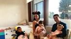 Georgina Rodríguez partilha momento divertido com os filhos de Ronaldo