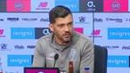 Sérgio Conceição acredita em jogo difícil contra Belenenses para a Taça de Portugal