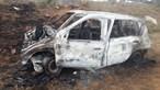 PJ investiga corpo encontrado carbonizado dentro de um carro