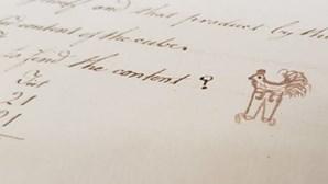"""Desenho de """"galo com calças"""" do século XVIII faz furor na Internet"""