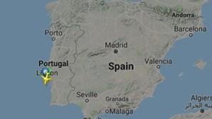 Avião obrigado a aterrar de emergência no aeroporto de Lisboa