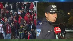 Dois adeptos do Benfica detidos no Jamor
