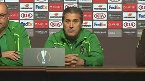 José Peseiro, treinador do Sporting