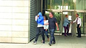 Cristiano Ferreira à saída do julgamento por tentativa de homicídio dos pais, em Braga