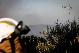 Fogo na serra de Sintra