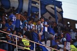 Adeptos do FC Porto no Estádio da Luz